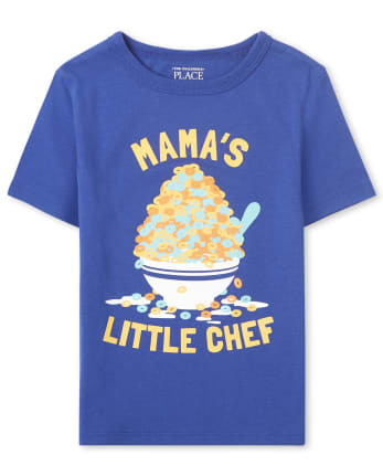Baby And Toddler Boys Mama's Chef Graphic Tee