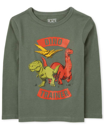 Baby And Toddler Boys Dino Trainer Graphic Tee