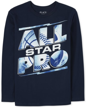 Boys All Pro Graphic Tee