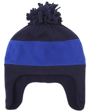Sombrero de polar Glacier con bloques de color para niños