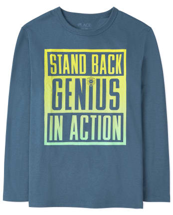 Boys Genius Graphic Tee