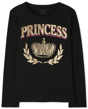 Girls Matching Family Royalty Graphic Tee