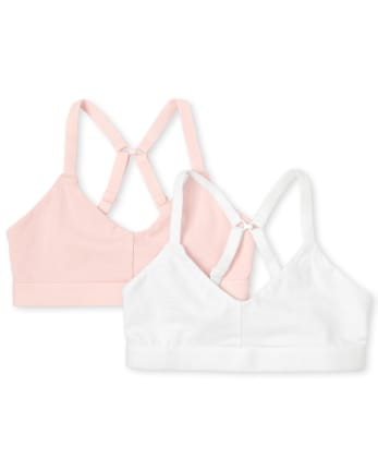 Girls Bralette 2-Pack