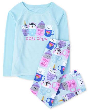 Girls Cozy Crew Pajamas