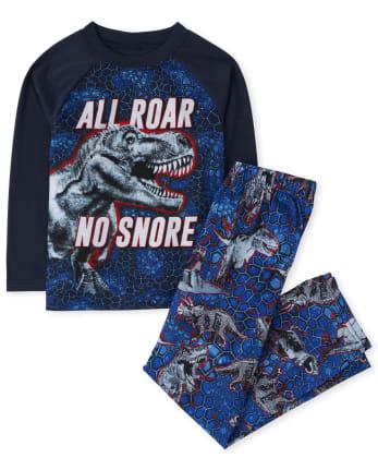 Boys Dino Snore Pajamas