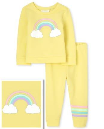 Toddler Girls Rainbow 2-Piece Set