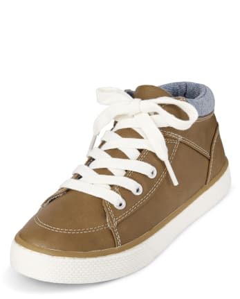 Boys Colorblock Hi Top Sneakers