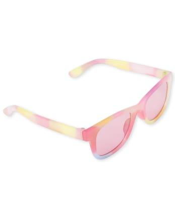 Girls Tie Dye Traveler Sunglasses