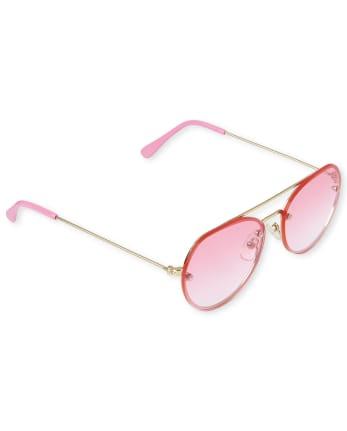 Girls Aviator Sunglasses