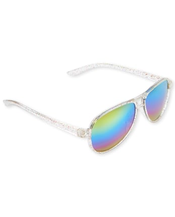 Toddler Girls Aviator Sunglasses