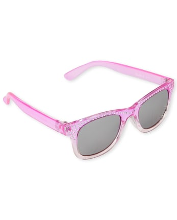 Toddler Girls Jeweled Traveler Sunglasses
