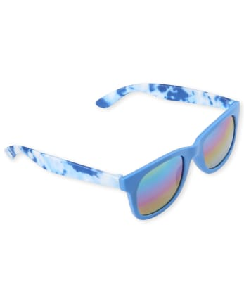 Boys Tie Dye Traveler Sunglasses