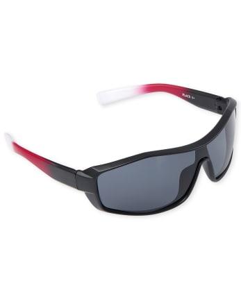 Boys Ombre Shield Sunglasses