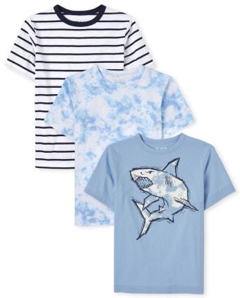 Boys Shark Top 3-Pack