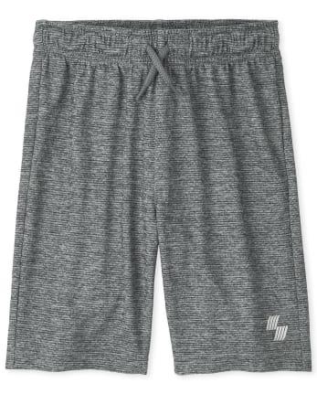 Boys Marled Performance Basketball Shorts
