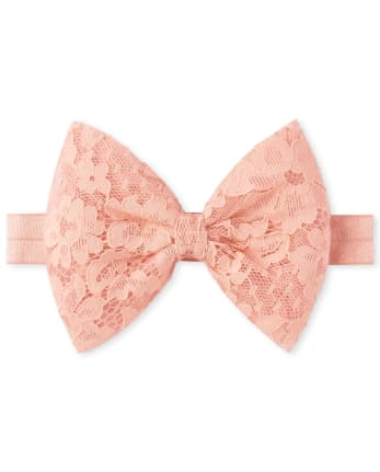 Baby Girls Lace Bow Headwrap
