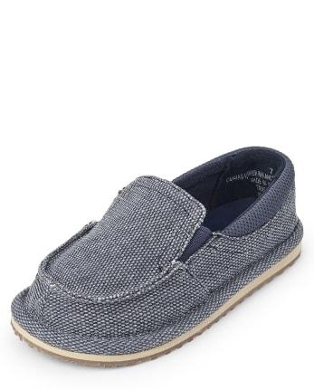 Toddler Boys Slip On Deck Shoes
