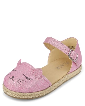 Toddler Girls Cat Espadrilles