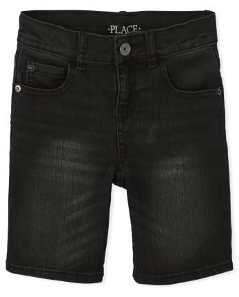 Boys Stretch Denim Shorts