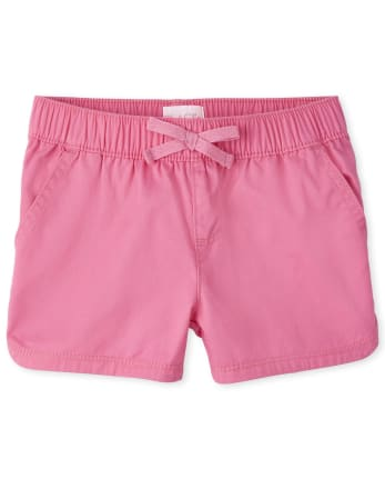 Girls Twill Pull On Shorts