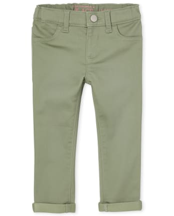 Jeans legging de mezclilla elastizados supersuaves para bebés y niñas pequeñas