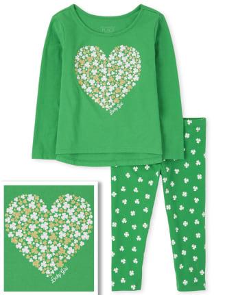 Toddler Girls St. Patrick's Day 2-Piece Set