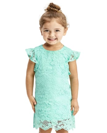 Toddler Girls Lace Shift Dress