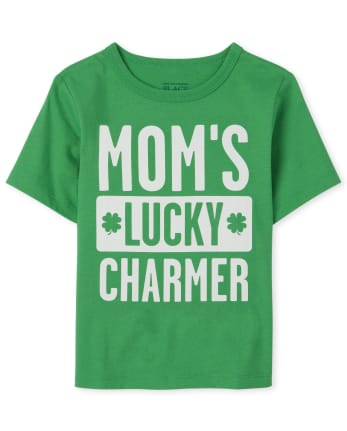 Baby And Toddler Boys St. Patrick's Day Lucky Charmer Graphic Tee