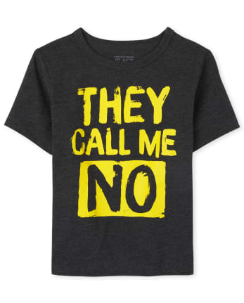Baby And Toddler Boys No Graphic Tee