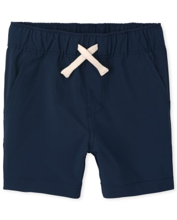 Baby And Toddler Boys Quick Dry Pull On Jogger Shorts