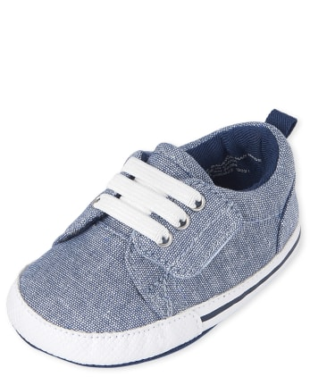 The Children's Place Baby Boys Chambray Sneakers