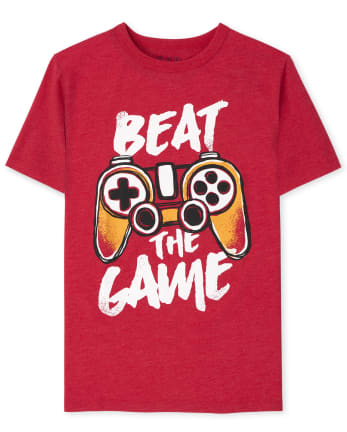 Boys Beat The Game Graphic Tee