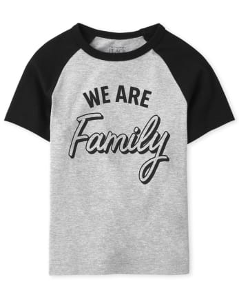 Unisex Baby And Toddler Matching Family Graphic Tee