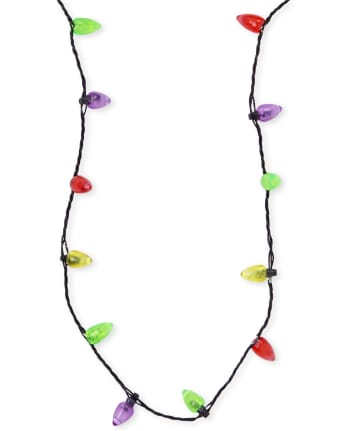 Girls Christmas Light Up Necklace
