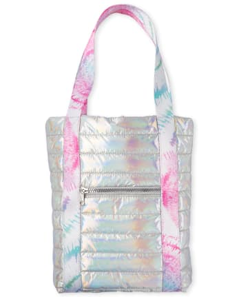 Girls Holographic Tote Bag