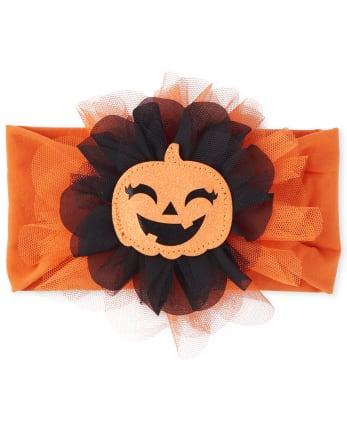 Baby Girls Halloween Headwrap
