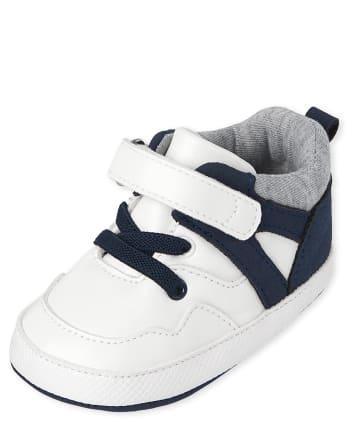 Baby Boys Colorblock Mid Top Sneakers