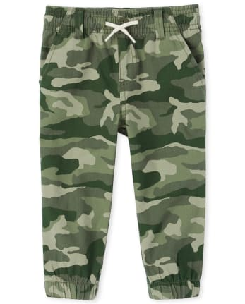 Baby And Toddler Boys Camo Stretch Pull On Jogger Pants