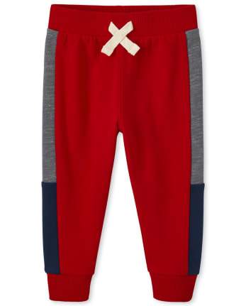 Baby And Toddler Boys Side Stripe Jogger Pants