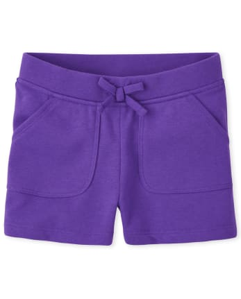 Girls French Terry Shorts