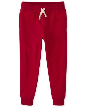 Boys Fleece Jogger Pants