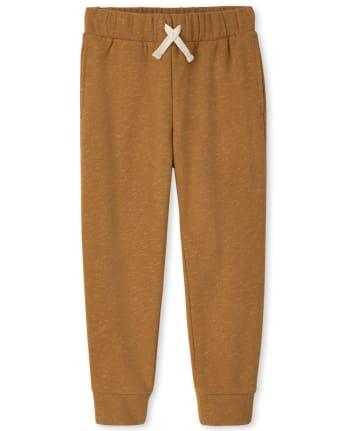 Boys Marled Fleece Jogger Pants