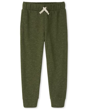 Boys Marled Fleece Pants