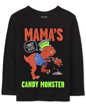 Baby and Toddler Boys Candy Monster Graphic Tee