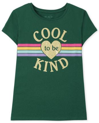 Girls Kind Graphic Tee