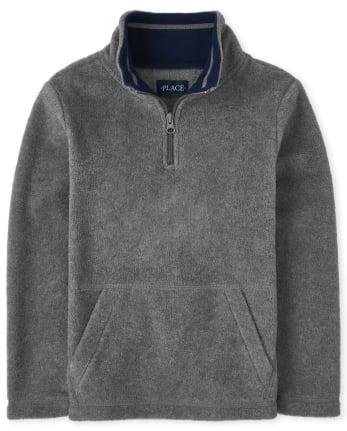 Boys Glacier Fleece Half Zip Pullover