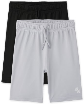 Boys Basketball Shorts 2-Pack