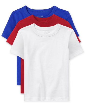 Baby And Toddler Boys Basic Layering Tee 3-Pack