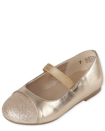 Toddler Girls Glitter Ballet Flats