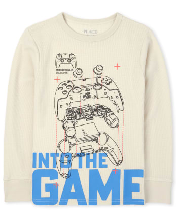 Boys Graphic Thermal Top